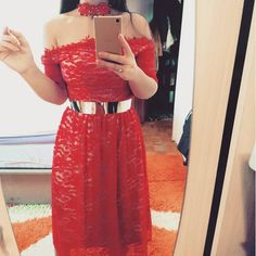 #my #newdesign #red #redcarpet #custommade #lacedress #dress #chokernecklace #mihradesign #mihradesigndress | Haljina prodata!  Po narudžbi 90KM  ( važi za narudžbe do kraja mjeseca )     http://bit.ly/2bQaaAI