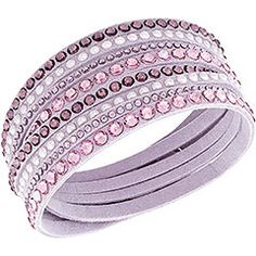 Beautiful Swarovski bracelet! So many colors to choose from too. I can't decide!