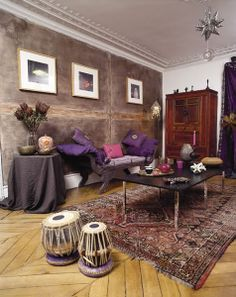 Middle eastern living room - Interior designs for your home Eclectic Modern, Eclectic Design, Decor Interior Design, Interior Design Living Room, Interior Decorating, Decorating Ideas, Bohemian Interior, Bohemian Decor, Boho