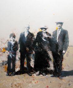 Jean Noviel--Les insulaires - 81x65 cm, 2004.