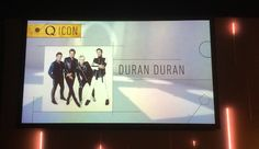 Duran Duran were presented with the Q Magazine ICON Award by Charli XCX at tThe Grovesnor House in London today!