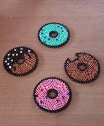 Výsledek obrázku pro patrones de hama beads posavasos
