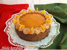Aleda konyhája: Jókai torta Cheesecake, Muffin, Lunch, Cookies, Breakfast, Sweet, Food, Diet, Caramel