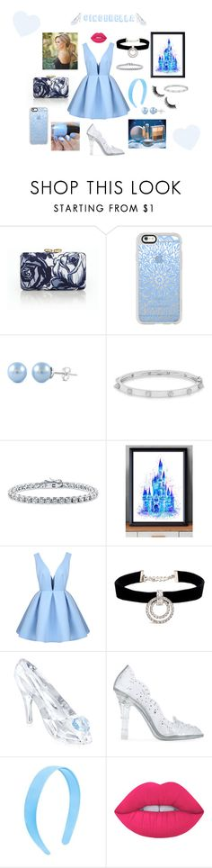 """""""Cinderella"""" by arianamonagas ❤ liked on Polyvore featuring Talbots, Casetify, Anne Sisteron, BERRICLE, Disney, Kenneth Jay Lane, Swarovski, Dolce&Gabbana and Lime Crime"""
