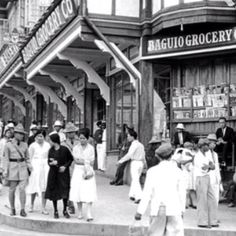 Old photo of Baguio Philippine Architecture, Philippine Art, Philippines Culture, Manila Philippines, Uk Visa, Baguio City, Filipino Culture, Exotic Beaches, Historical Architecture