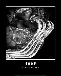 Honda 400F Pipes
