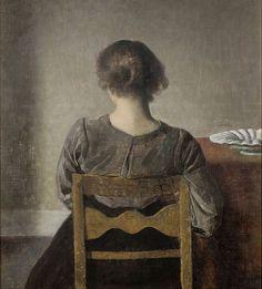 Hammershoi, el pintor que inmortalizó el silencio - Artelista | Artelista Magazine
