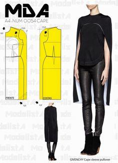 Простые выкройки блуз с накидками / Блузки / ВТОРАЯ УЛИЦА