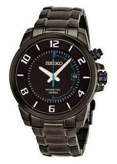 Seiko Kinetic Watches Men is one variant of Seiko watches for men. Get the best collection of Seiko Kinetic Watches Men here and complete your activities with Seiko watches are elegant. Best Seiko Watch, Casio Watch, Man About Town, Seiko Watches, Black Stainless Steel, Beautiful Watches, Watch Sale, Watches Online, Watch Brands