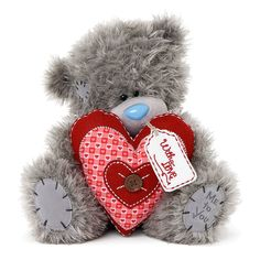 """24"""" Padded Heart Me to You Bear  £75.00"""
