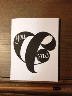 Ampersand Valentine's Day Card