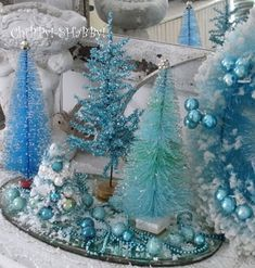 A Blue Christmas (A Christmas Wonderland Tour) - The Cottage Market www.MadamPaloozaEmporium.com www.facebook.com/MadamPalooza