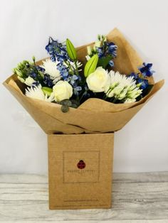 Moonlight Madness Hand-tied Extra Large Bouquet of Flowers. Perfect treat for a Birthday or just to let someone know you are thinking of them during these difficult times. #summerflowers #birthdayflowers #liverpoolflorist #flowersdelivered #flowerdelivery | Booker Flowers and Gifts Liverpool, Merseyside | Flower Delivery Liverpool - Same Day Delivery option | Florist Liverpool | Flower & Gift Shop Liverpool Christmas Plants, Christmas Door Wreaths, Christmas Flowers, Flowers For You, Order Flowers, Summer Flowers, Orchid Vase, Candle Arrangements, Birthday Bouquet