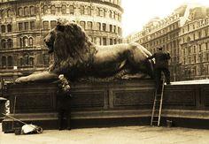 Trafalgar Square, September, 1956