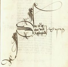 calligraphy from a payment to a trumpeter...7 December 1507 #DeeperRoots #medieval #calligraphy
