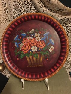 themed serving platter made in the usa ceramic