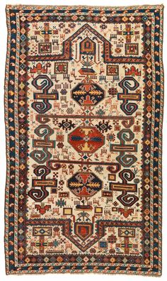 Perepedil double-ended prayer rug, Caucasus, late