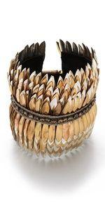 ★ Feathered Metal cuff