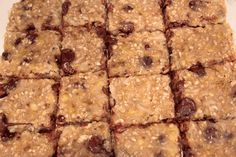 Clean Chocolate Chip Bars | Muscle & Fitness