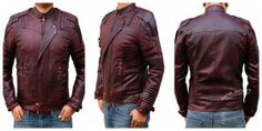 Star Lord 2 brialliant red jacket