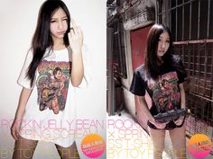 TOY PEOPLE-Exclusive Rockin' Jelly Bean x Spring Scream Tee 'In Action'