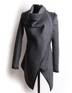 Autumn Irregular Overcoat for Women