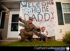 Welcome Home Signs U0026 Ideas For Military Homecomings