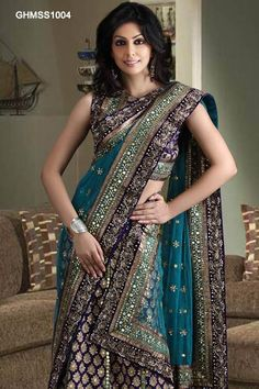 Embroidered Georgette Lehenga Choli