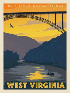 Anderson Design Group – American Travel – West Virginia: New River Gorge
