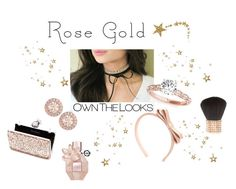 """""""Rose Gold"""" by poepoepurses ❤ liked on Polyvore featuring Givenchy, RED Valentino and Miss Selfridge"""