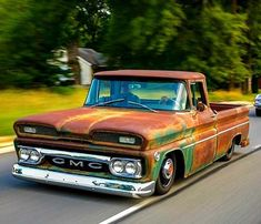 trucks and cars Bagged Trucks, Lowered Trucks, Mini Trucks, Gm Trucks, Cool Trucks, 1966 Chevy Truck, Custom Chevy Trucks, Classic Pickup Trucks, Chevy Pickups