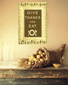 give thanks and eat tablescape from lollyjaneboutique.blogspot.com