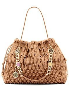 Bulgari Spring 2012 Handbags - Make the best out of your outfit by styling it up with a super hot bag. Carry your personal belongings in style with Bulgari's fab handbag designs for spring as they will surely add that 'je ne sais quoi' to your look! Cheap Designer Handbags, Cheap Handbags, Purses And Handbags, Gucci Handbags, Fashion Handbags, Fashion Bags, Smocking, Bvlgari Handbags, Gucci Purses