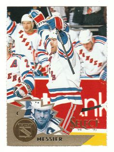 Select Hockey Cards Pick From List Hockey Cards, Baseball Cards, Mark Messier, New York Rangers, Ice Hockey, Trading Cards, Nhl, The Selection, Sports