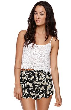 Crochet Cropped Cami
