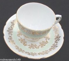 Beautiful Stanley Bone China  England Cup & Saucer #Stanley