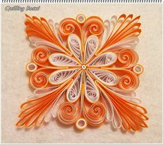 Christmas Ornament - by: Quilling Boszi