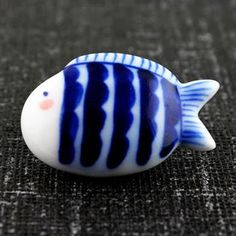 Hand-painted Characteristic Ceramic Brooch,Lovely Fat Fish by ChineseCeramicJewelry for $31.80