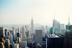 Daytime Empire State Cityscape Wall Mural