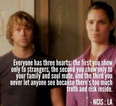Ncis la -Densi. Don't really watch the show but this perfectly describes me!