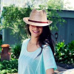 Adorable fedora by Tula Hats.  Design by Alice Eichelmann.