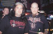 me and brian hoffman from amon ex deicide