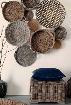 Not A Big Fan Of Baskets As Art Because Of Being Dust A Phobic. But If You  Can Tolerate It, These Baskets Have Such Wonderful Shape, Texture And  Design.