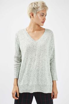 Long Line V-Neck Kni