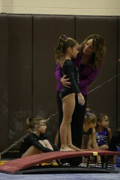 Coaching gymnastics is what i do, but i always remember this use to be me(: