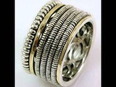 Regal Gold - Colectia de  inele argint in combinatie cu aur 9k Aur, Israel, Rings For Men, Gold, Jewelry, Jewels, Jewellery Making, Men Rings, Jewlery