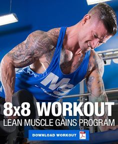 training workouts Ramp up your muscle growth phase with a high volume approach. This 4 day split incorporates an volume training approach to help you build muscle! 12 Week Workout, Full Body Workout Routine, Gym Workout Videos, Fun Workouts, Workout Routines, Fitness Body Men, Muscle Fitness, Men's Fitness, Muscle Food