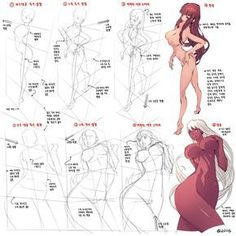 Drawing The Human Figure - Tips For Beginners - Drawing On Demand Drawing Practice, Drawing Skills, Drawing Poses, Drawing Techniques, Female Drawing, Body Drawing, Manga Drawing, Comic Drawing, Female Reference