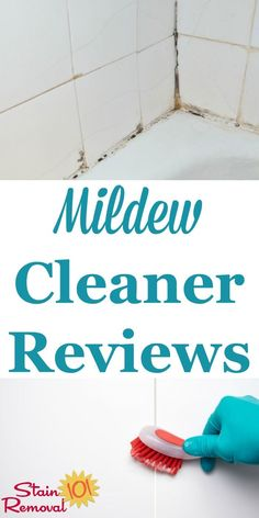 Here is a round up of reviews of mildew cleaners and mildew removers to find out which work the best to get rid of mildew from various types of surfaces, including in bathroom, on clothing, siding, other hard surfaces and more {on Stain Removal 101}