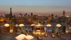 This is apparently a honeymoon place: Angsana Riad! Works for both venue ideas and post ceremony trips